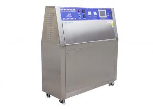 China Industrial Plastic UV Aging Test Chamber , Programmable Temperature Controller on sale