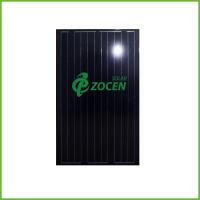 Laminated 215W Battery Absolute Black Solar PV Panels / Module