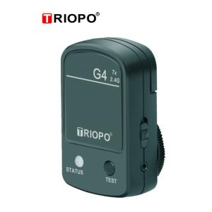 China TRIOPO G4 2.4 Wireless Camera Flash light Speedlite Trigger with Universal hot shoe with black color on sale
