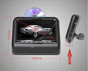 China 9 cabeceira DVD do carro de Vedio do carro a melhor reveem o sistema de Dvd da cabeceira on sale