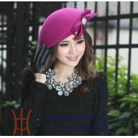 China 2014 Fashionable 100% Australia Woman Wool Felt Hat for women on sale