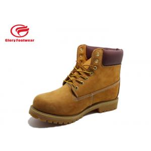 EVA  Hiking Goodyear Welted Full Grain Leather Shoes For Heavy Industry Workers