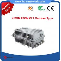 4 GEPON OLT OUTDOOR TYPE/4 PON OLT EPON OUTDOOR TYPE/4 GEPON OLT/ Cortina chipset EPON OLT/Compatible with many ONUs
