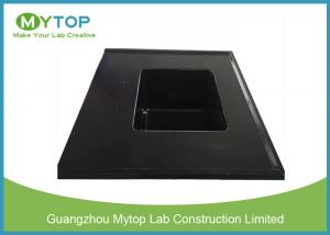 China Integrated Chemical Resistant Epoxy Resin Lab Sinks With Laboratory Water Basin on sale