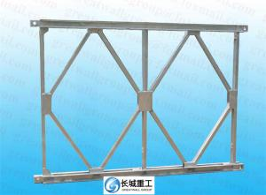 China Compact 200 Bailey Truss Bridge Span Up 60.96 Meters Easy Install Anti Skid Surface on sale