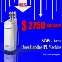 History lowest Prices! 50% discounts off! best 3 handles IPL acne removal machine supplier