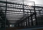 Big Span Pre Engineered Metal Building Workshop With 150km / H Wind Load