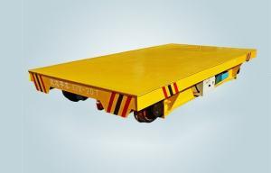 China 産業モーターを備えられた鉄道によって引かれる移動のトロリー電池式の柵の移動のカート on sale