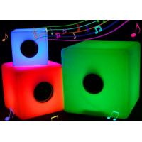 Illuminated Glow Bluetooth LED Music Cube Rechargeable With Colorful Lighting Changing