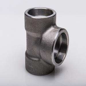 China High pressure Forged 3000 stainless steel fittings 304 316 tee on sale