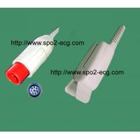 Medical Soft SPO2 Finger Sensor , Finger Clip Spo2 Sensor High Accuracy