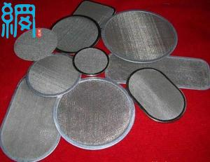 China Stainless Steel Screen Pack Filter Disc Mesh on sale