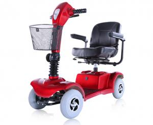 China Hot 2015 D101-B CE European Standard Heavy-duty Mobility 4 Wheel Electric Scooter for Handicapped & Elders on sale