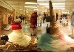 Custom Design Window Display Decorations Oversize Fiberglass Ice Cream Sculpture