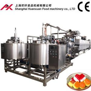 China Multifunctional Soft Candy Production Line With Easy Operating LED Touch Panel on sale