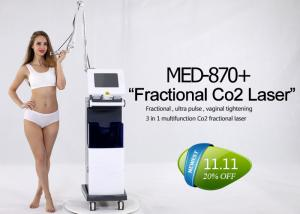 China Multifunction Co2 Fractional Laser Machine For Acne Scar / Strech Mark Removal on sale