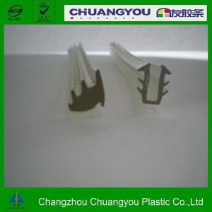 China Tira de goma modificada para requisitos particulares del lacre de la ventana de la junta de la protuberancia plástica en blanco on sale