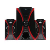 China remote control 2.1 chnnel home theatre system hi-fi active multimedia subwoofer speaker with bluetooth,sd card,fm radio on sale
