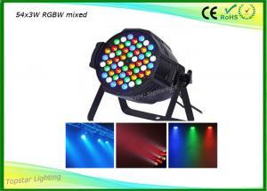 China Rgbw LED Par Light Double Handle Input Output 4 Cords 54x3w on sale