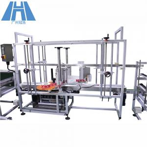 China Full Automatic Automatic Labeling Machine For Corner Labeling Sticker Adhesive Top on sale