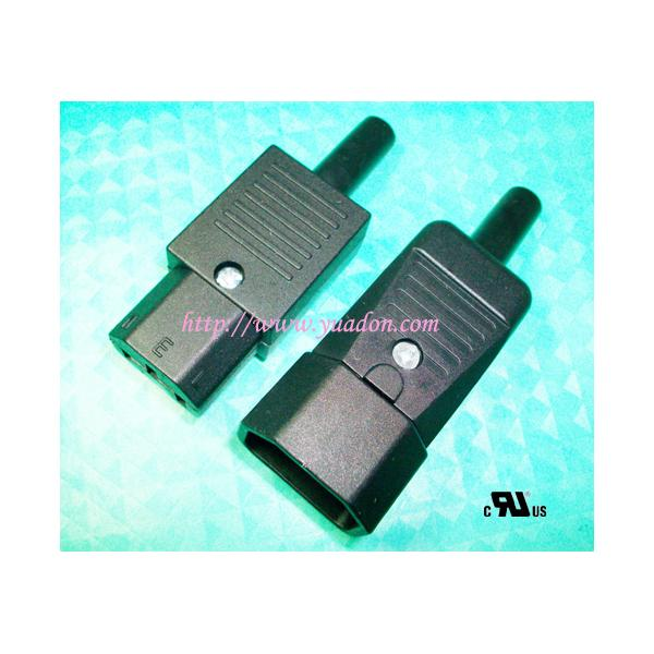 C13 / C14 IEC power cord male female wire connector/C13To C14 Power ...