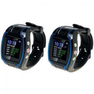 China 163dBm 850MHz / 900MHz Wrist Watch Gps Personal Tracker on sale