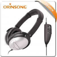 airline active noise-cancelling headphone