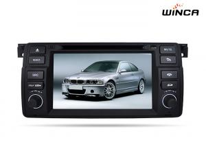 China Two Din E46  BMW Android Multimedia With GPS Audio / Radio / Bluebooth / DVD on sale