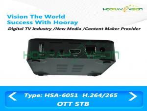 China Bluetooth OTT Full HD Set Top Box  8GB Nand Flash Hardware 3D Graphics Acceleration on sale