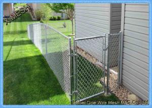 China Vinyl White 6'h/8'w Garden Privacy Chain Link PVC Fence on sale