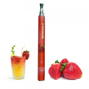 China Red 600 Puff / 800 Puff Disposable Electronic Cigarette With 900mah 2.4ohm LED Battery on sale