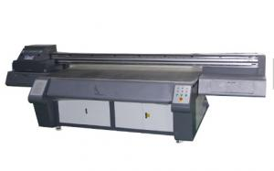 China Corrugated Cardboard  Digital UV Flatbed Printer High Resolution With Automatic Cleaning System on sale