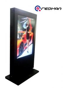 China 46 47 inch Outdoor Digital Signage 1080 P LCD Display Sunlight Readable 2500 nits on sale