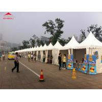 China Custom White Pagode Tent For Festival / Exhibition / Trade Show on sale