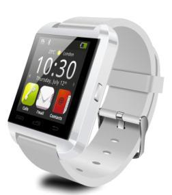 China Watch Smart Wrist Watch Phone Mate Bluetooth For Android Samsung white on sale