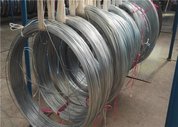 Outer Diameter 4 6mm Steel Bundy Tube , Round Zinc Coated
