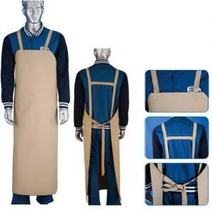 China Abrasive Resistant Protective Clothing Aprons Thick PVC For Chemical Industry on sale