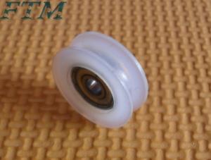 China liding door & window wheel roller plastic pulley shower door roller bearings on sale