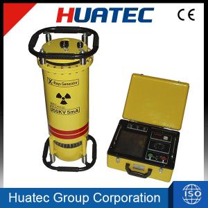 China Panoramic radiation portable X-ray flaw detector XXH-3505 for the welding line detection on sale