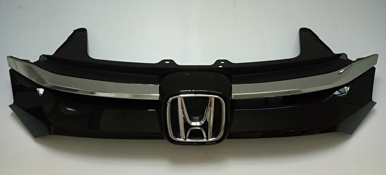 Chrome Front Bumper Upper+Lower Grille Moding Trim For Honda CRV CR-V 2015-2016