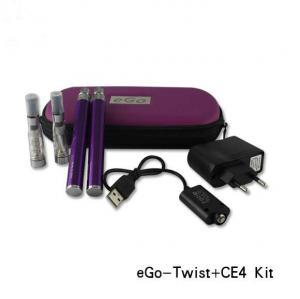 China High quality 3.2v-4.8v Variable Voltage Ego Twist Electronic Cigarette starter kit on sale