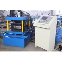 2-4mm Thickness Galvanized Steel  C Purlin Roll Forming Machine High Speed Durable Automatic