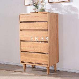 China Chest Cabinet Solid Wood 5 Drawers Corner Table Europe Modern Style FL-B005-D on sale