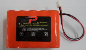 China 12V 600mAh aa nicd battery , ni cd rechargeable batteries KS KFI Emergency lighting supplier
