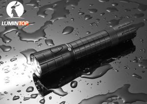 China LED Rechargeable Super Bright Flashlight , Edc21 Powerful Rechargeable Torch Light on sale