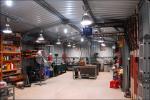 atelier en acier léger préfabriqué