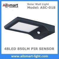 48LED 850 Lumens 9W Motion Sensor Solar Wall Light PIR Solar LED Garden Light Outdoor Solar Security Lighting