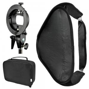 China Bowens Mount Foldable Softbox with S-Type Flash Bracket for Photo Studio Flash Speedlite on sale