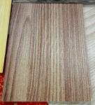 Natural Wooden Texture Color Coated Aluminum Coil , Textured Aluminum Trim Coil