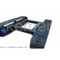 Steel Track Undercarriage and track chassis for transport in construction site